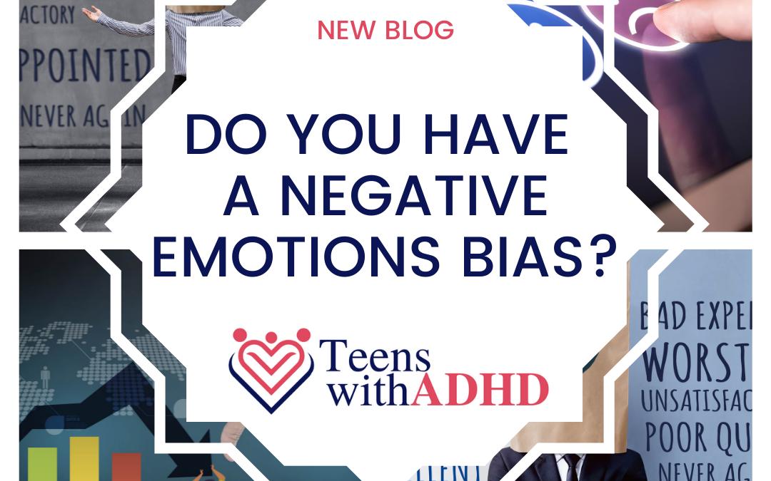 Do You Have a Negative Emotions Bias?