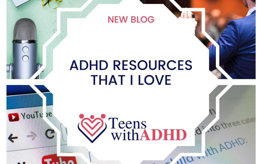 ADHD Resources that I LOVE