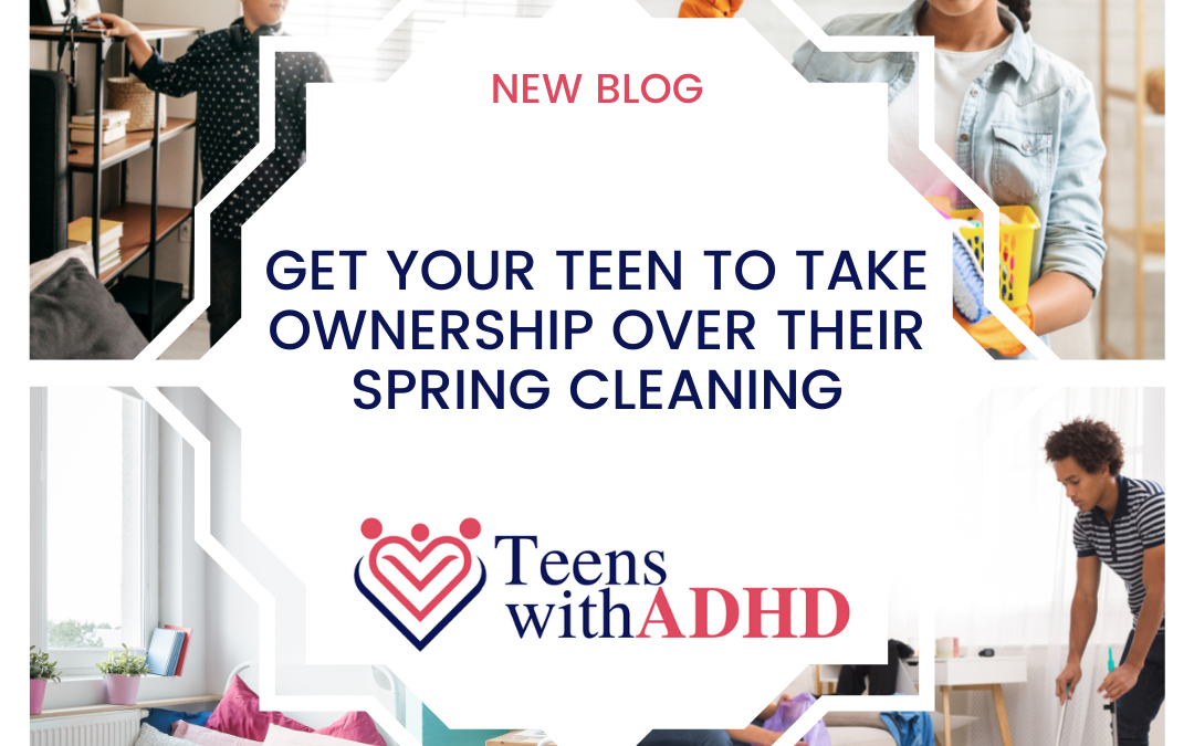 Teenagers who love spring cleaning