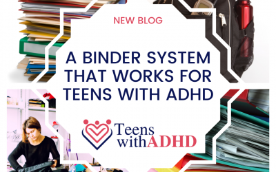 A Binder System that WORKS for Teens with ADHD