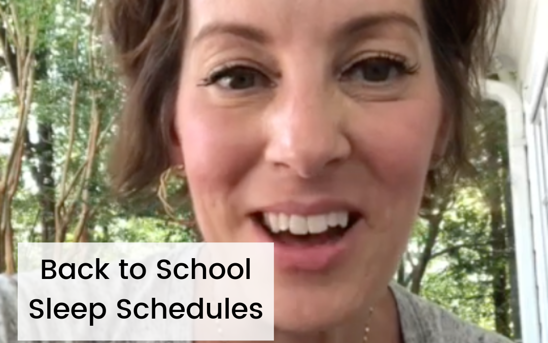 How to Get Your Kids on a Better Sleep Schedule for Back to School