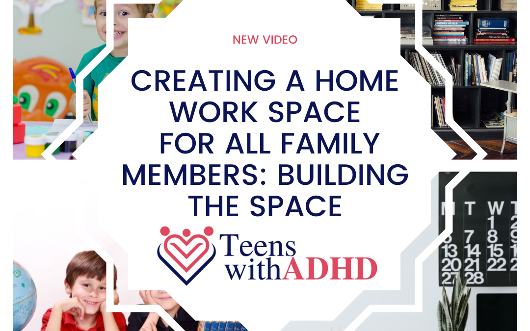 Creating a Home Work Space for All Family Members: Building the Space