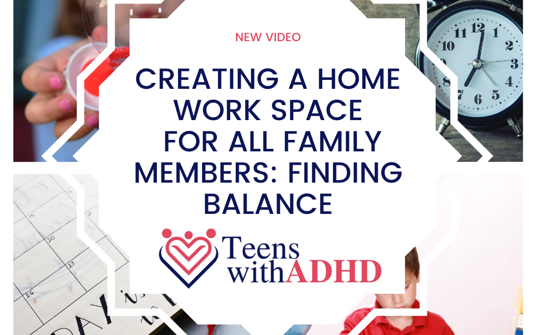 Creating a Home Work Space for All Family Members: Finding Balance