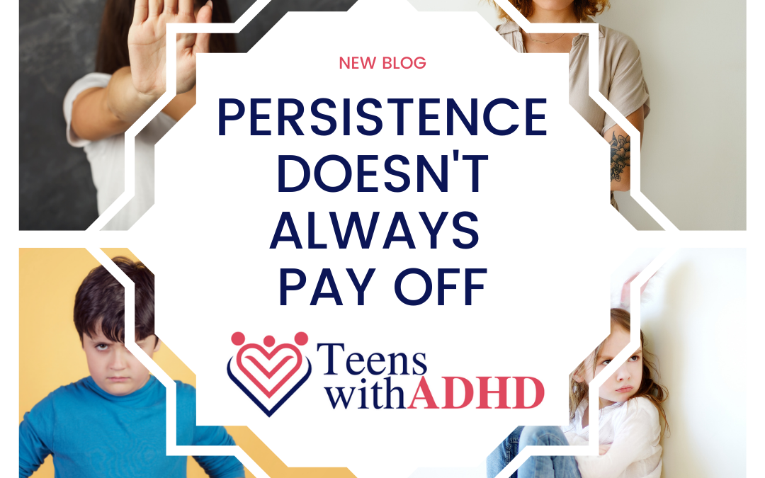 ADHD Persistence Doesn't Always Pay Off